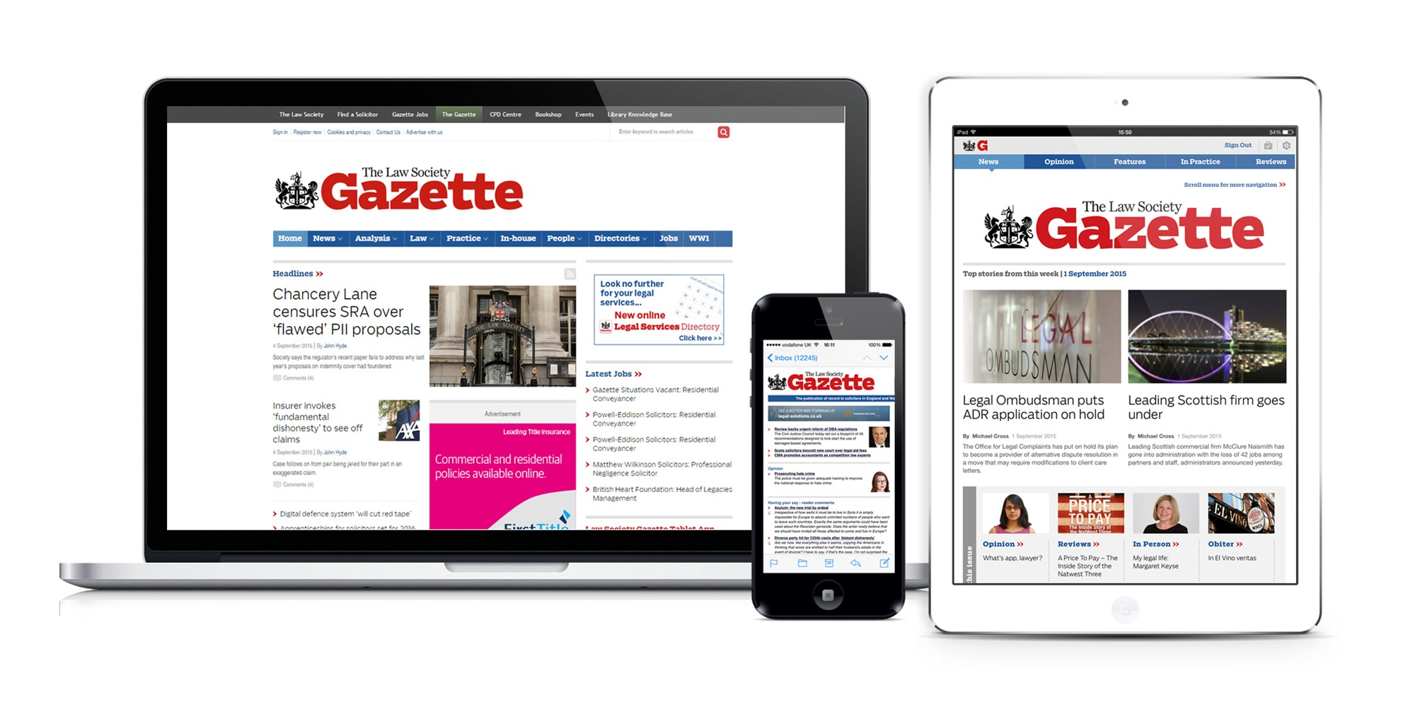Law Society Gazette Digital Products