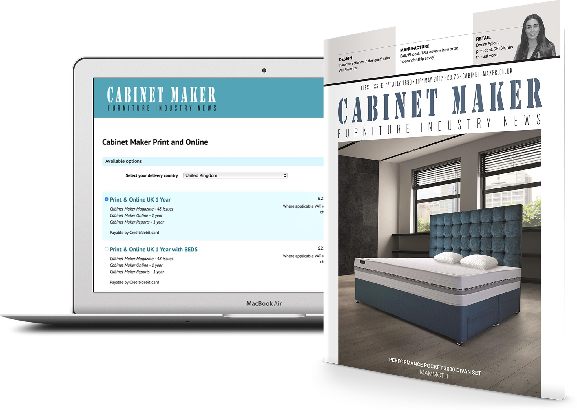 cabinet maker subscriptions and magazine