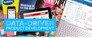Data Driven Product Development banner