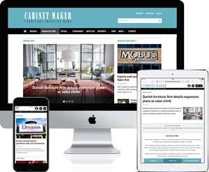 cabinet maker responsive website
