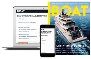 Boat International - Advance on Laptop and Phone