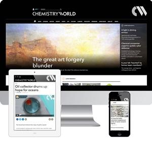 chemistry world new responsive website