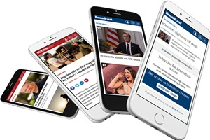 Screen Daily and Broadcast Now on mobile