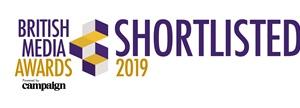 British Media Awards 2019 Shortlisted