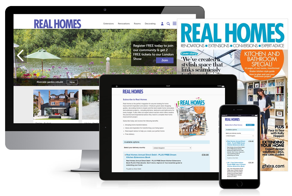 Real homes print fulfillment