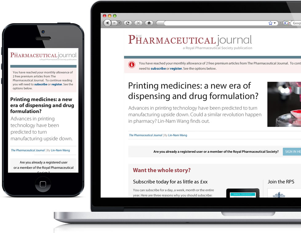 Pharmaceutical Journal Access Denied