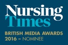Nursing Times - British Media Awards 2016 nominee