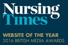 nursing times website of the year