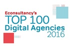 Econsultancy top 100 digital agencies 2016