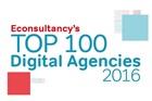 Econsultancy top 100 digital agencies 2016