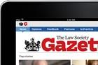 Law Society Gazette tablet app