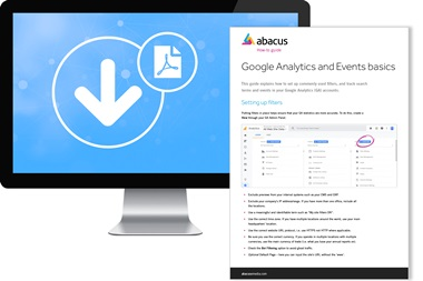 google analytics and events download