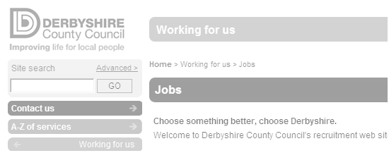 Derbyshire County Council - Home Page