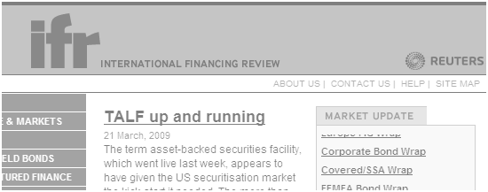 Thomson Reuters - International Financing Review