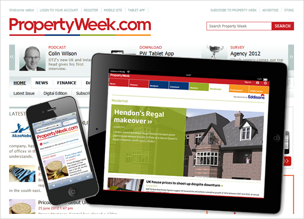Property Week across the channels