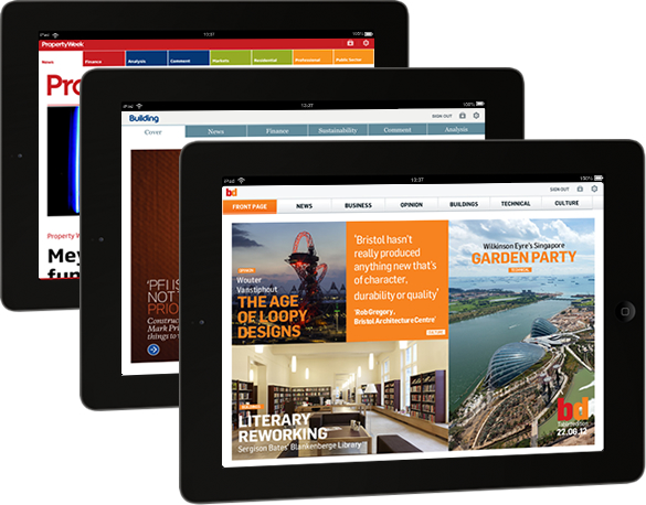 UBM's suite of tablet apps