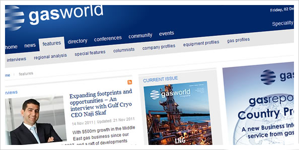 Gas World website